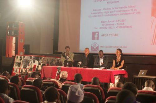 Article : Face aux défis audiovisuels et cinématographiques du Tchad, l'APCA est créée.