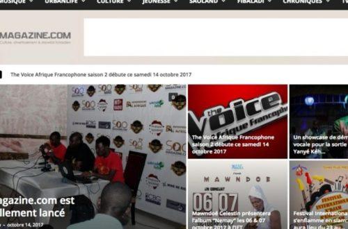 Article : Saomagazine.com, un nouveau magazine culturel pour le Tchad